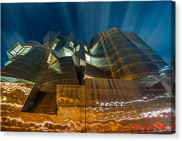 Weisman Art Museum Canvas Print by Mark Goodman