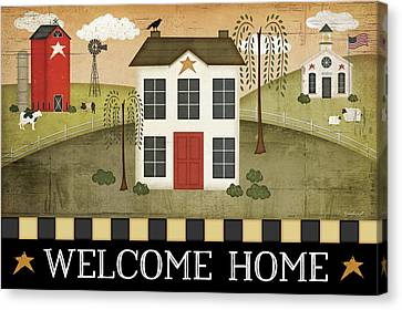 Welcome Home Canvas Print