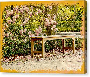 Welcome Spring Canvas Print by Carol F Austin