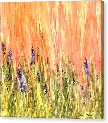 Welcome Spring Canvas Print by Rosie Brown