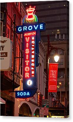 Welcome To 6th Street Canvas Print