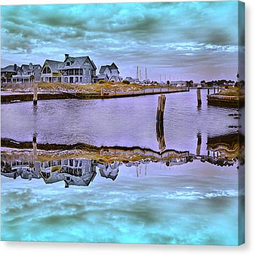 Welcome To Bald Head Island II Canvas Print by Betsy C Knapp