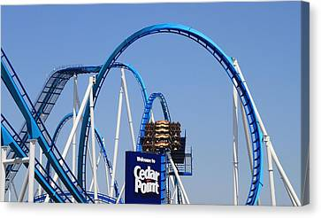Welcome To Cedar Point Canvas Print