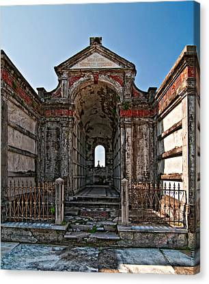 Metairie Cemetery Canvas Print - Welcome To Eternity by Steve Harrington