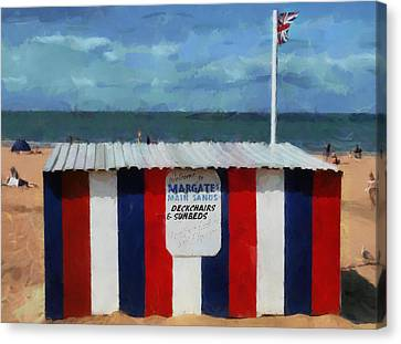 Jack Kent Canvas Print - Welcome To Margate's Main Sands by Steve Taylor