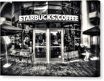 Welcome To Starbucks Canvas Print