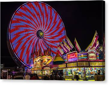 Welcome To The Fair. Canvas Print by William  Carson Jr
