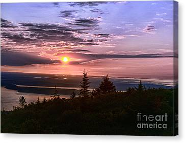 Welcoming A New Day Canvas Print by Arnie Goldstein
