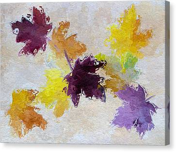 Welcoming Autumn Canvas Print by Heidi Smith
