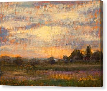 Weld County Canvas Print by Athena  Mantle