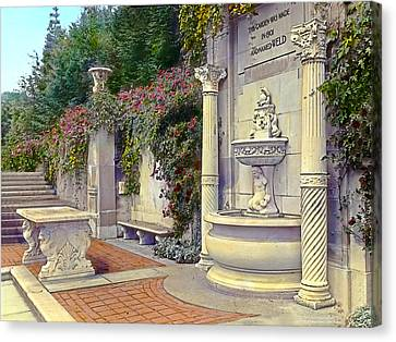 Weld Garden Canvas Print