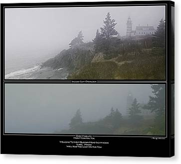 Canvas Print featuring the photograph We'll Keep The Light On For You by Marty Saccone