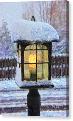 We'll Leave The Light On For You Canvas Print by Jon Burch Photography