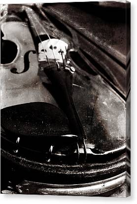 Canvas Print featuring the photograph Well Used Instrument by Scott Kingery