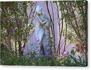 Well Woman Sculpture Canvas Print by Ellen O'Reilly