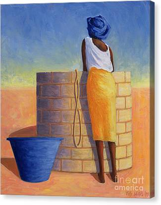 Well Woman Canvas Print