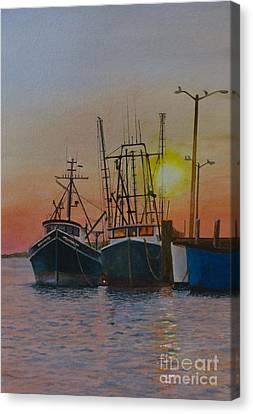 Wellfleet Dusk Canvas Print