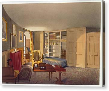 Wellington's Bedroom Canvas Print