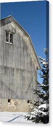 Canvas Print - Wells Barn by Debbie Finley