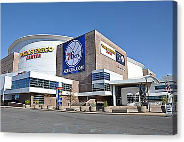 Wells Fargo Center Canvas Print by Bill Cannon
