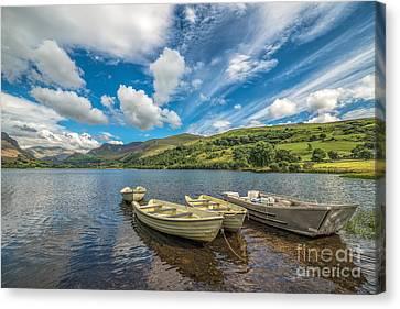 Welsh Boats Canvas Print