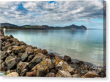 Welsh Coast Canvas Print by Adrian Evans