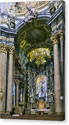 Weltenburg Abbey  II Canvas Print