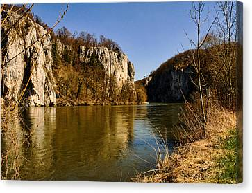 Weltenburg Narrows Canvas Print
