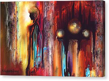 Welvering Canvas Print by Francoise Dugourd-Caput