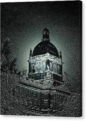Wenceslas Square Canvas Print