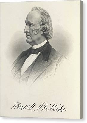 Wendell Phillips Canvas Print by British Library