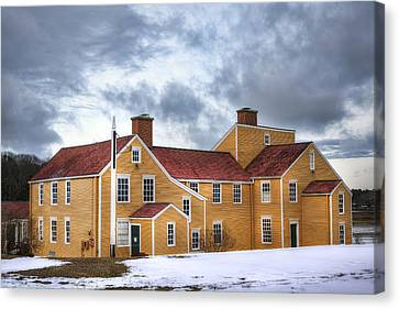 Wentworth Coolidge Mansion Canvas Print by Eric Gendron