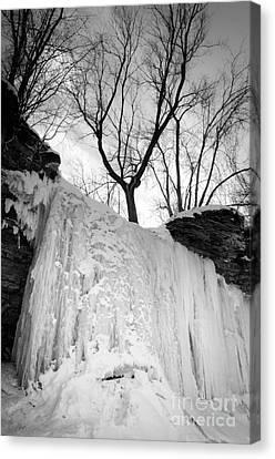 Wequiock Walls Of Ice Canvas Print