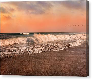 We're Having The Tide Of Our Lives Canvas Print by Betsy Knapp