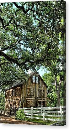 Were You Raised In A Barn? Canvas Print