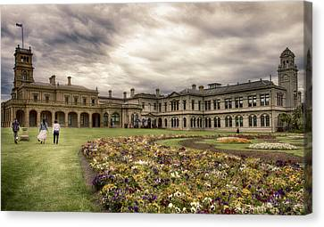 Canvas Print featuring the photograph Werribee Mansion by Kim Andelkovic