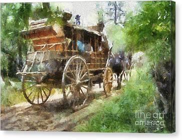 West Away Canvas Print