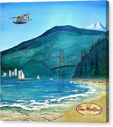 West Coast Dream Canvas Print by John Lyes