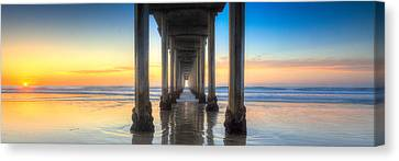 West Coast Tranquillity Canvas Print