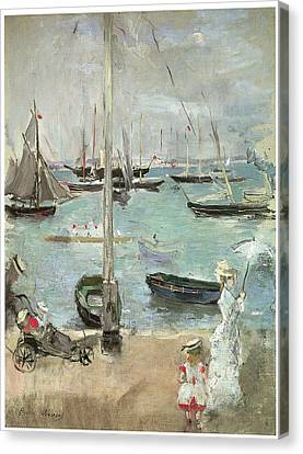 West Cowes Isle Of Wight Canvas Print by Berthe Morisot