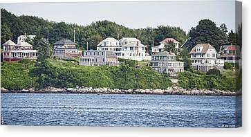 Canvas Print featuring the photograph West End Long Island Maine by Richard Bean