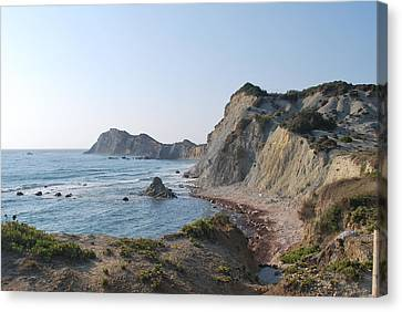 West Erikousa 1 Canvas Print by George Katechis