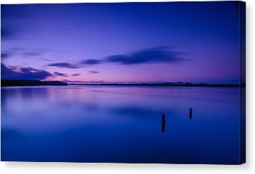 West Loch Sunrise Canvas Print