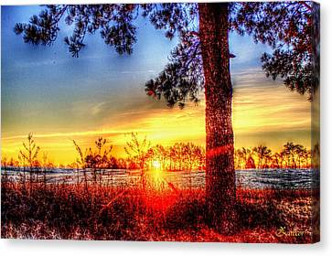 West Tennessee Sunrise Canvas Print
