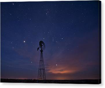 West Texas Sky Canvas Print