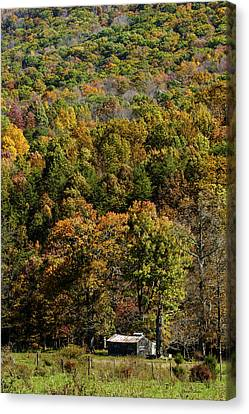 Canvas Print featuring the photograph West Virginia Color by David Lester