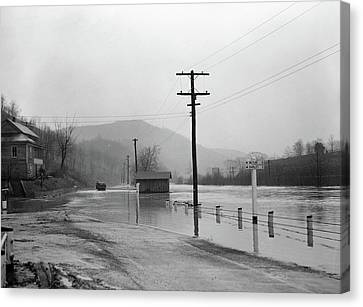 West Virginia Flood, 1939 Canvas Print by Granger