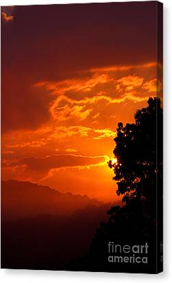 West Virginia Late Spring Sunrise Canvas Print