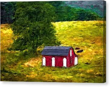 West Virginia Painted Canvas Print by Steve Harrington