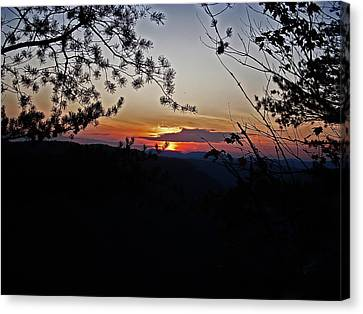 Clouds Canvas Print - West Virginia Sunset 2 by Aimee L Maher Photography and Art Visit ALMGallerydotcom